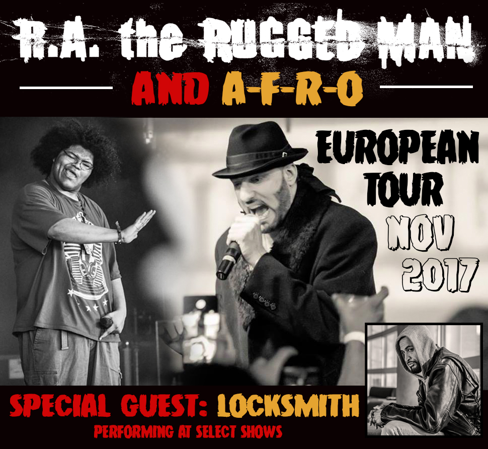R A The Rugged Man Announces European Tour